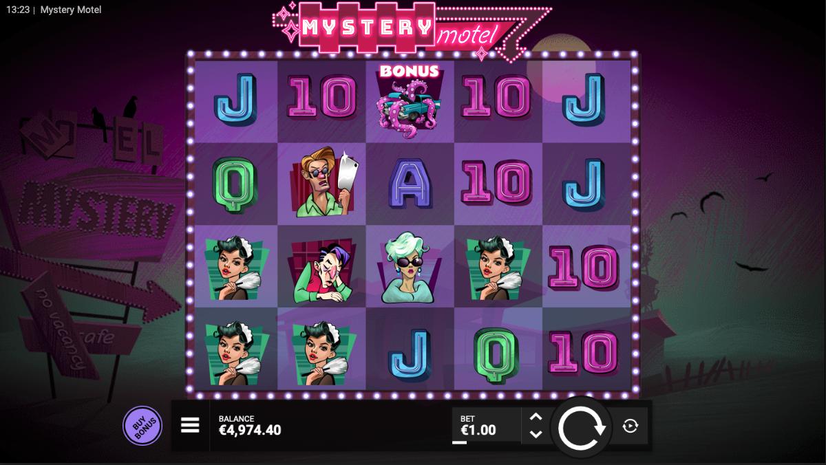 mystery motel screenshot