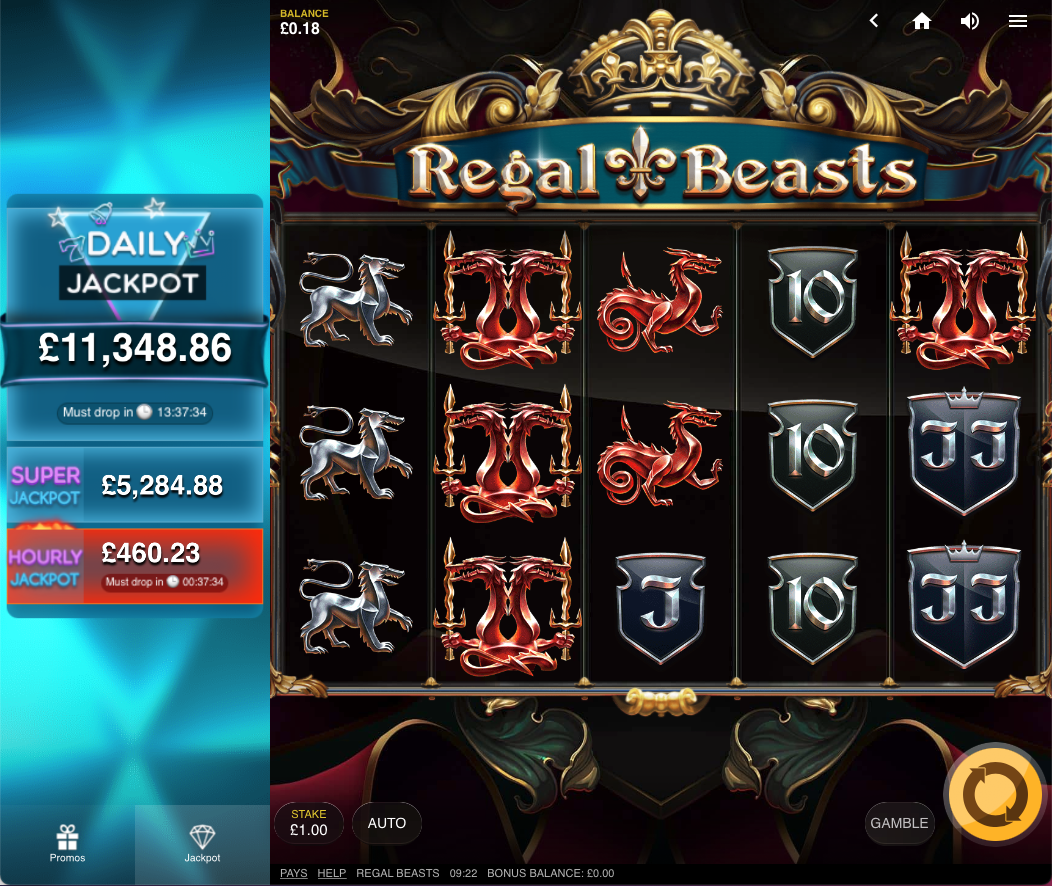 regal beasts screenshot