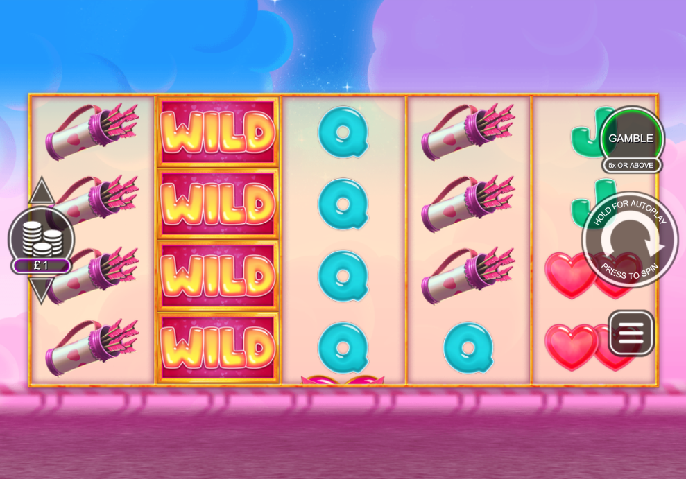 stacked valentines hearts screenshot
