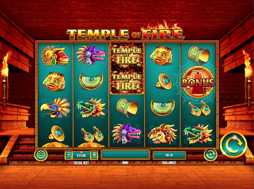 temple of fire screenshot