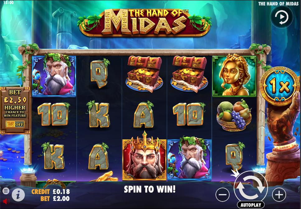the hand of midas screenshot