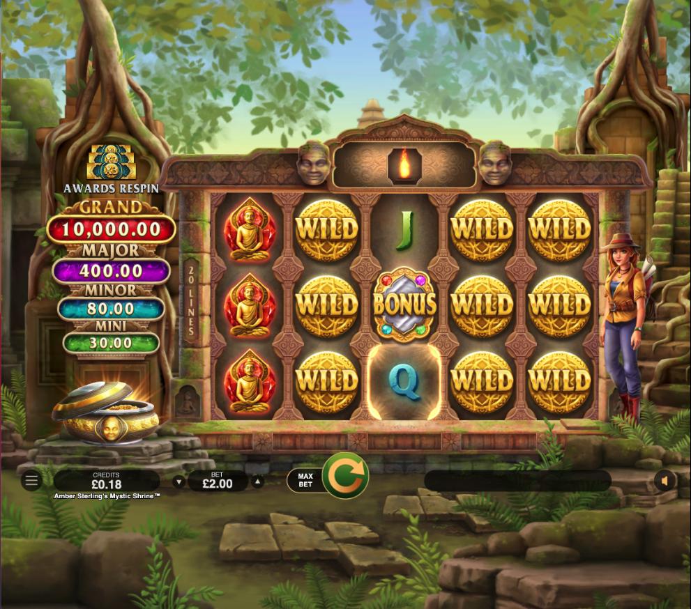 amber sterlings mystic shrine screenshot