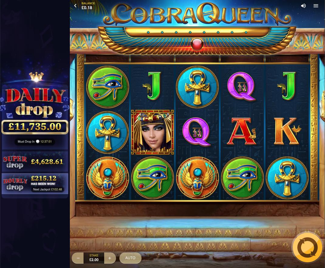 cobra queen screenshot