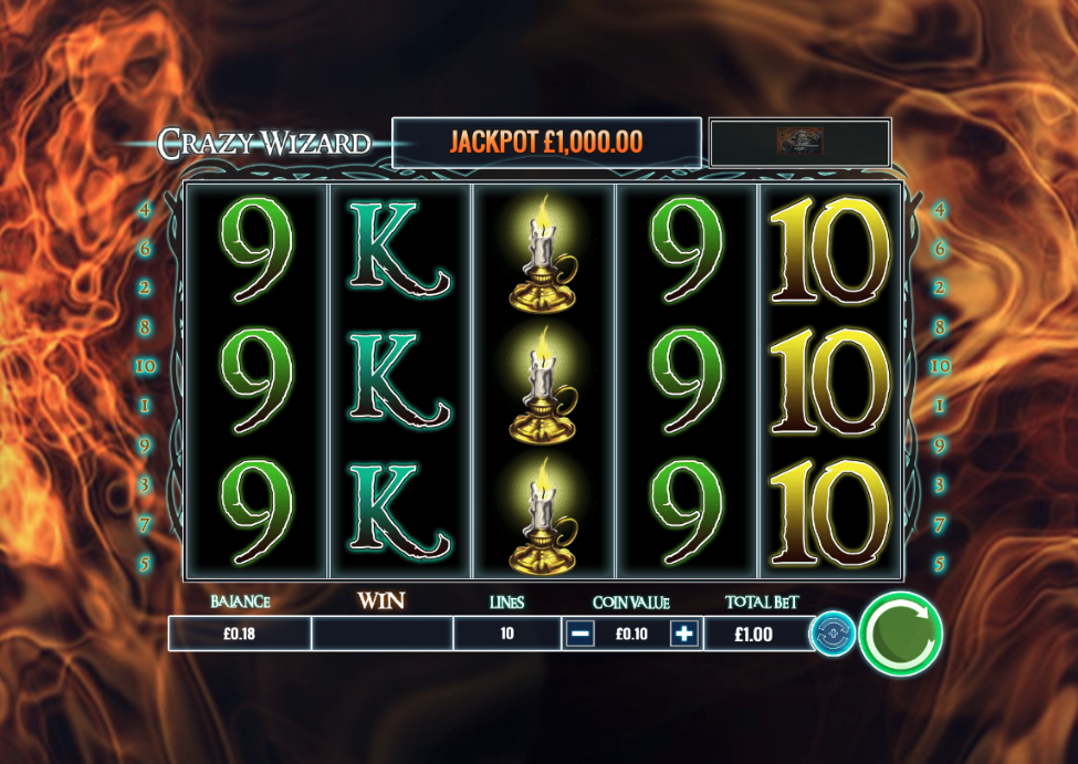 crazy wizard screenshot