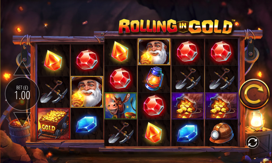 rolling in gold screenshot