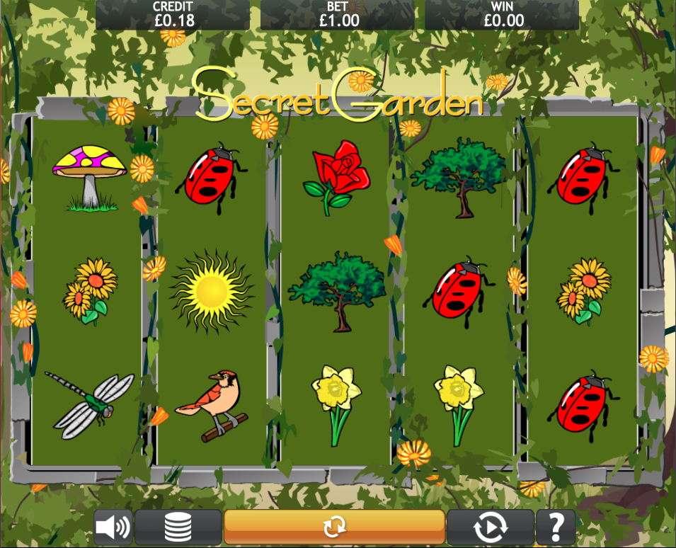 secret garden screenshot