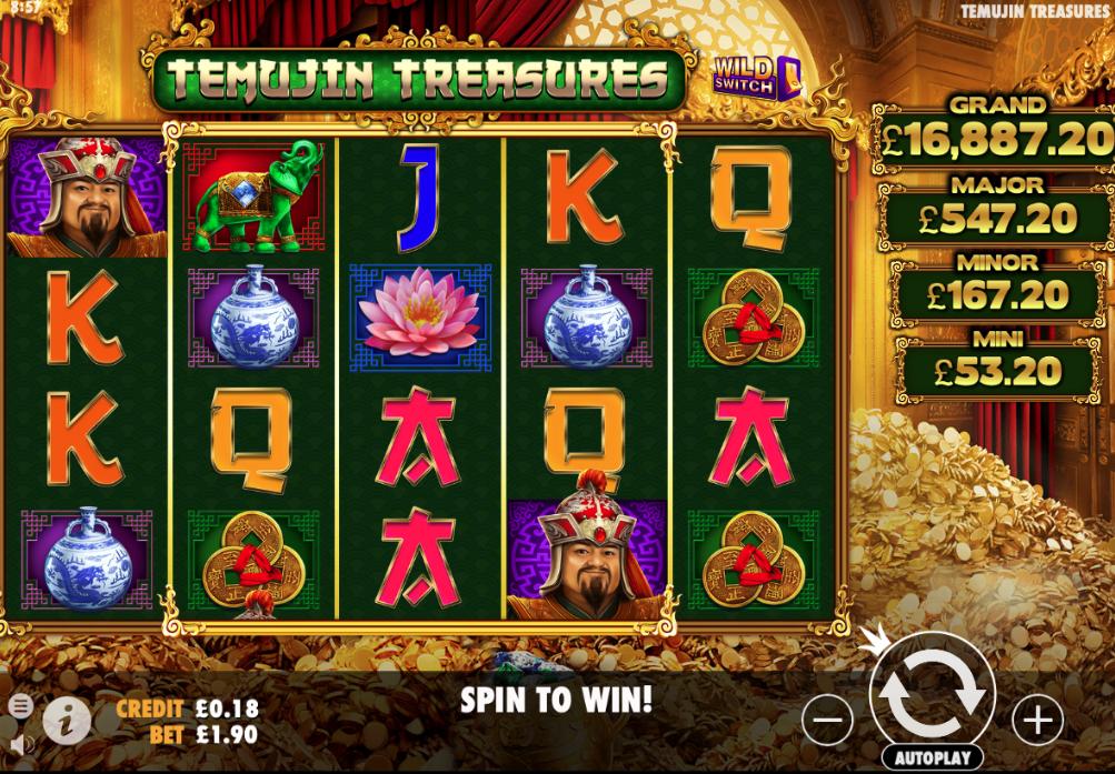 temujin treasures screenshot