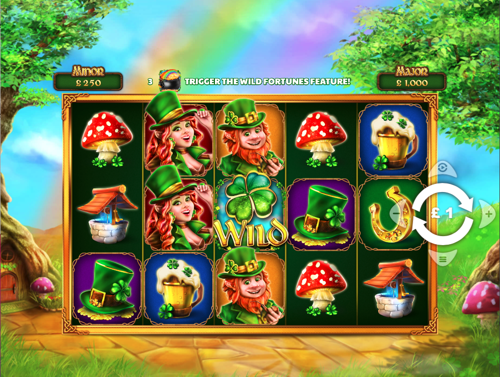 wild fortunes screenshot