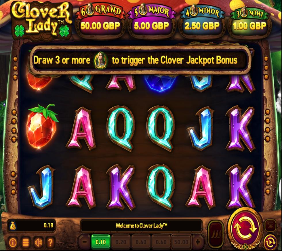 clover lady screenshot