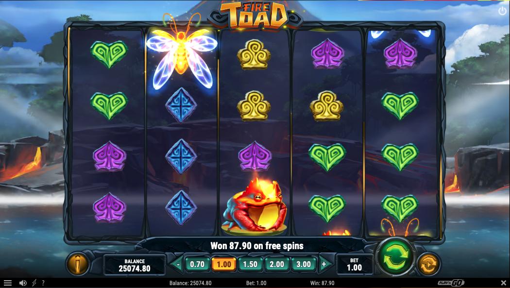 fire toad screenshot