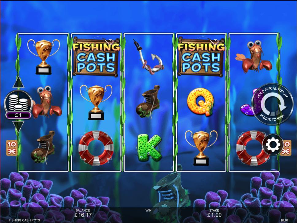 fishing cash pots screenshot