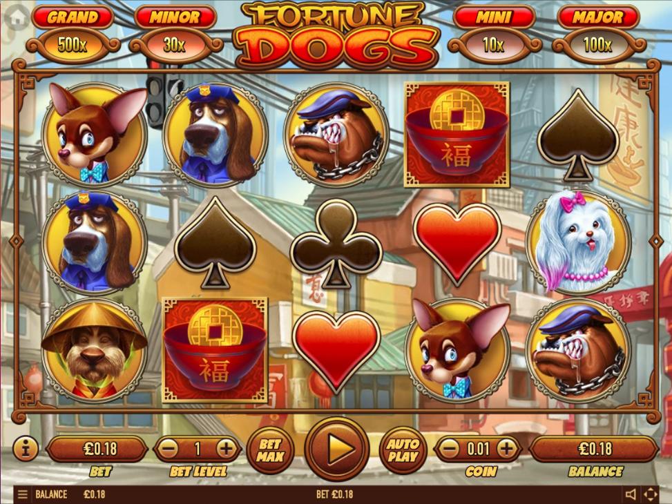 fortune dogs screenshot