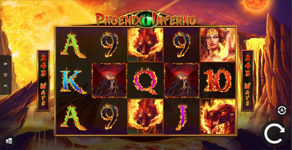 phoenix inferno screenshot