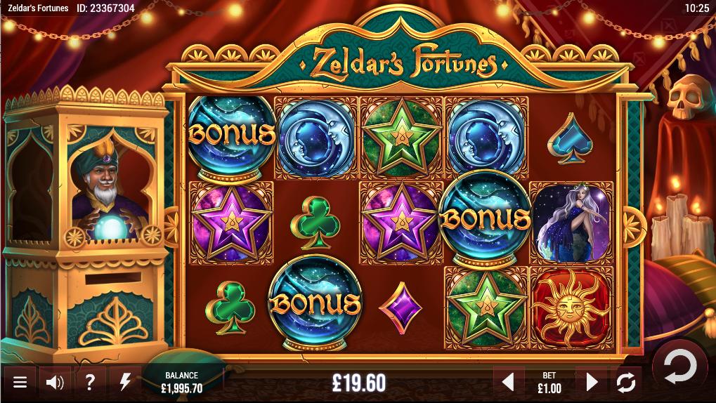 Zeldar's fortune screenshot