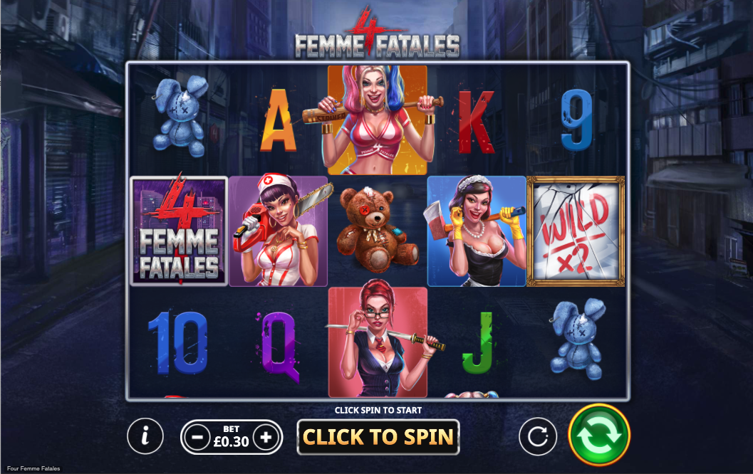 4 femmes fatales screenshot