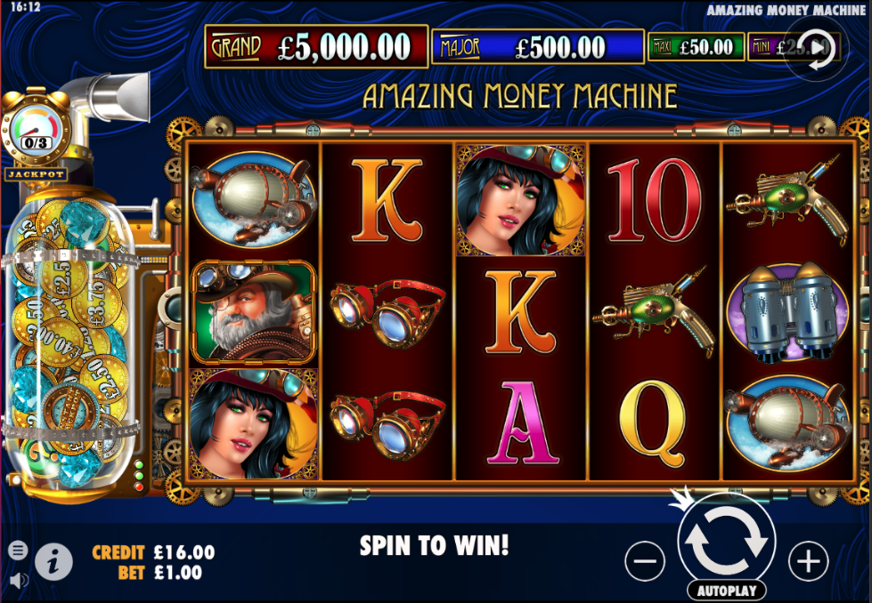 amazing money machine screenshot