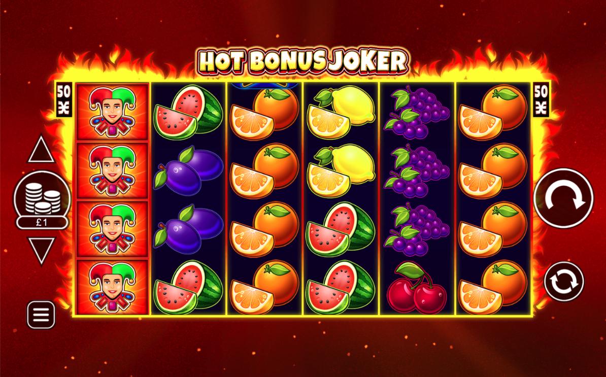 hot bonus joker screenshot