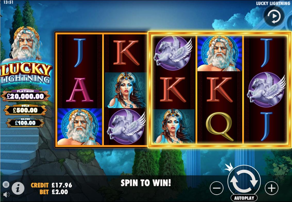 lucky lightning screenshot