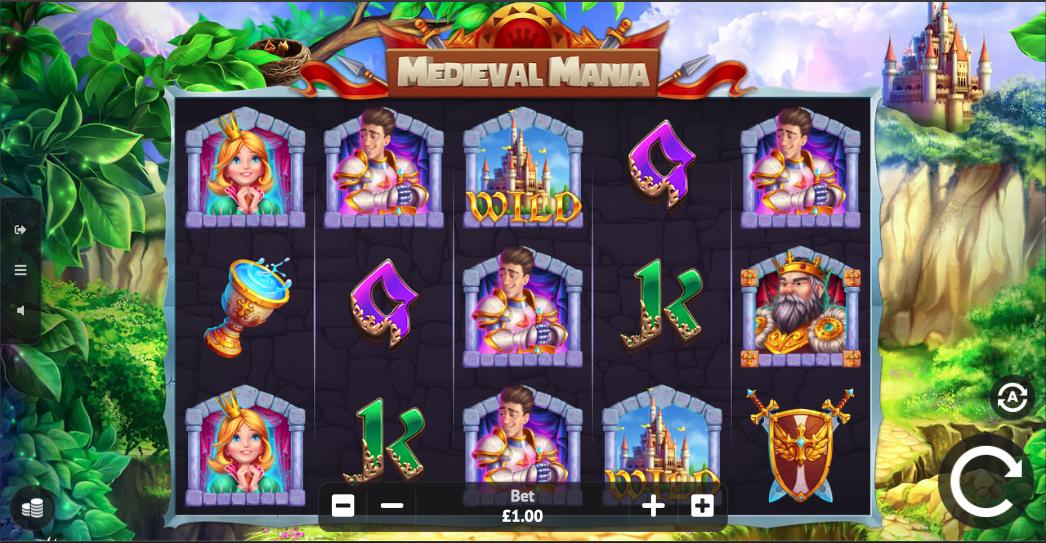 medieval mania screenshot