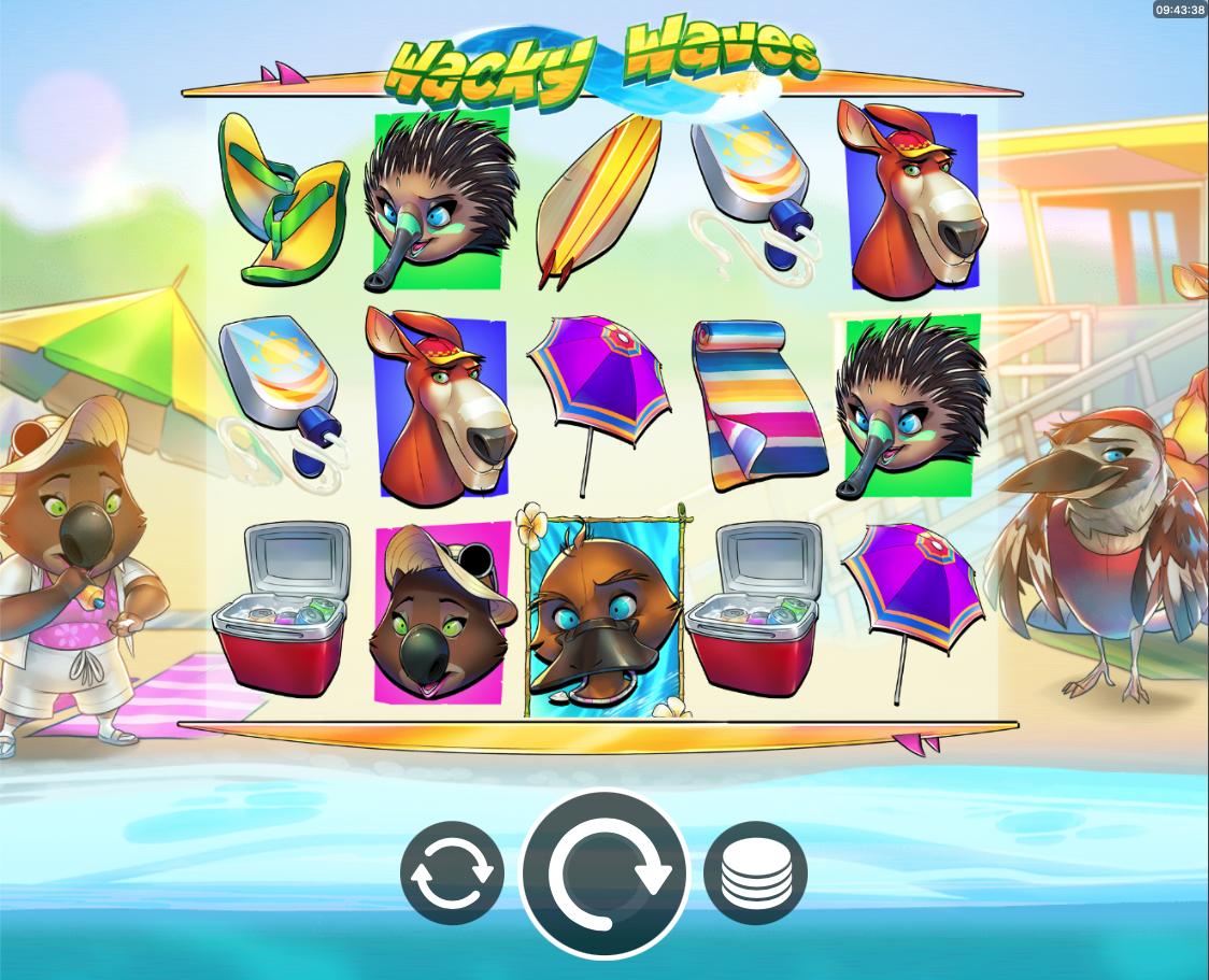 Wacky Waves screenshot