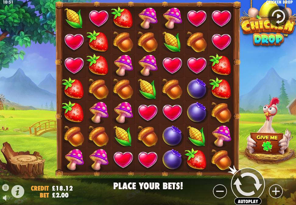 Chicken Drop screenshot
