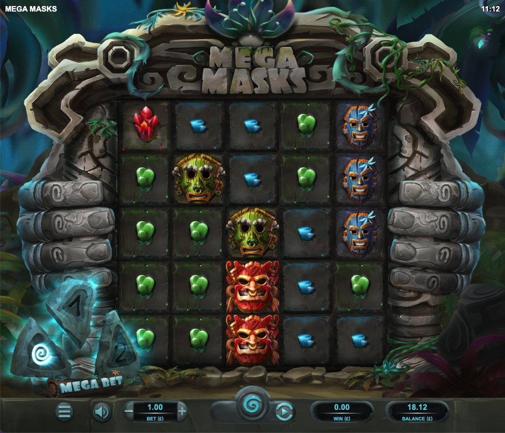 mega masks screenshot