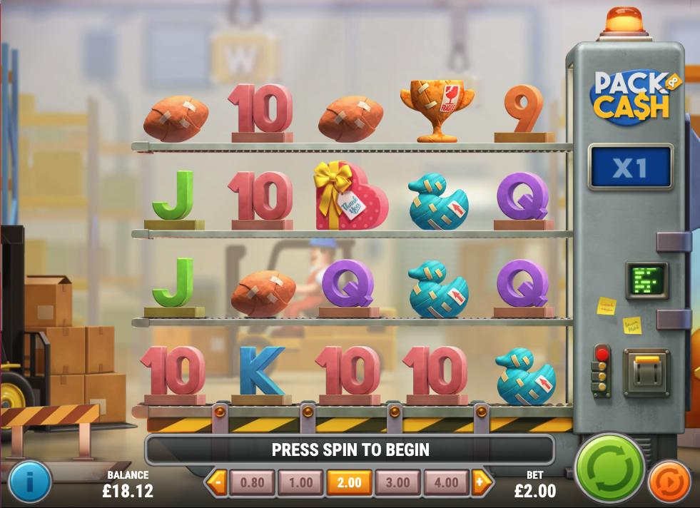 pack & cash screenshot