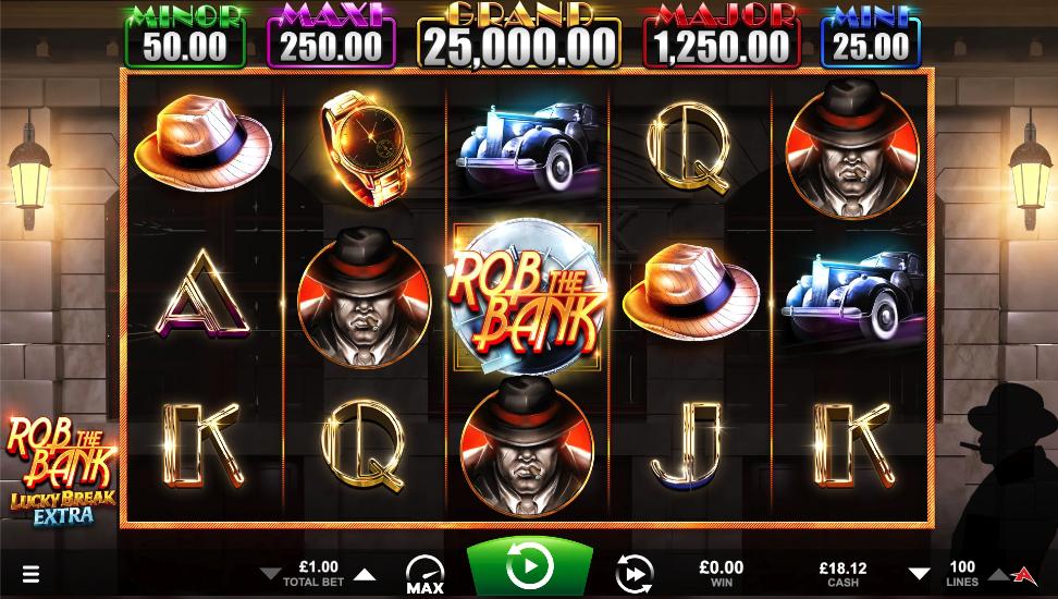 rob the bank screenshot
