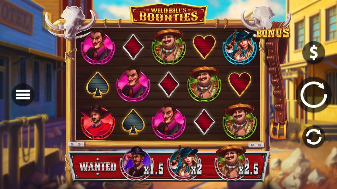 wild bills bounties screenshot