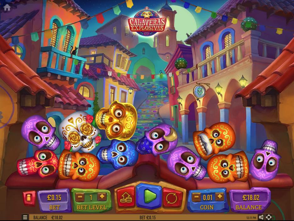 Calaveras Explosivas screenshot