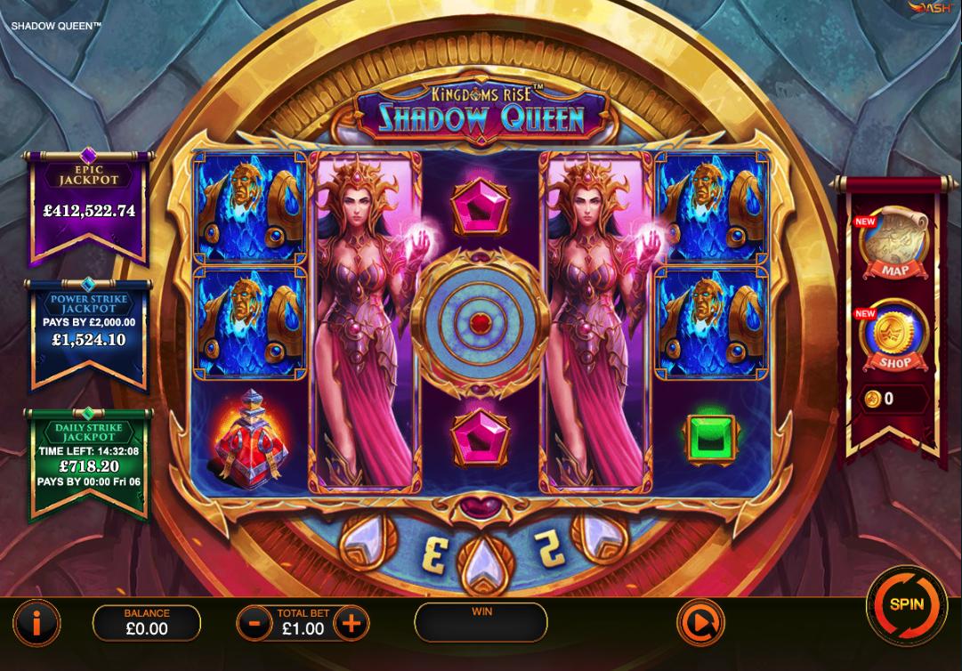 kingdoms rise shadow queen screenshot