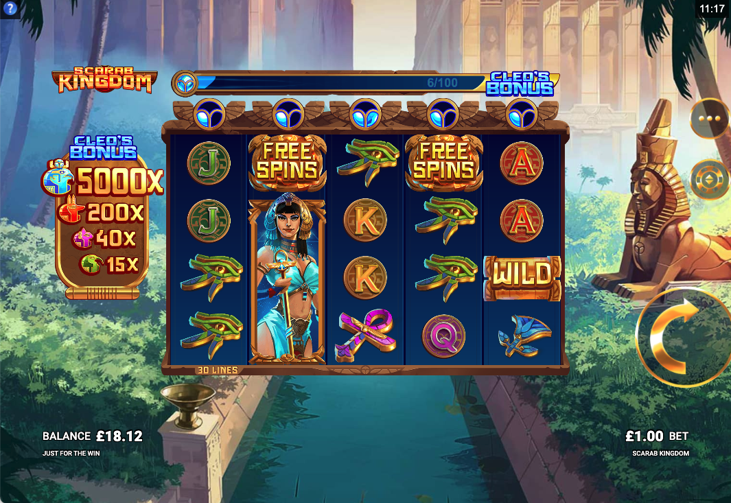 Scarab Kingdom screenshot