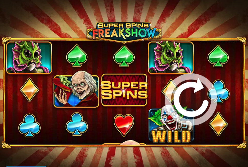 Super Spins Freakshow screenshot