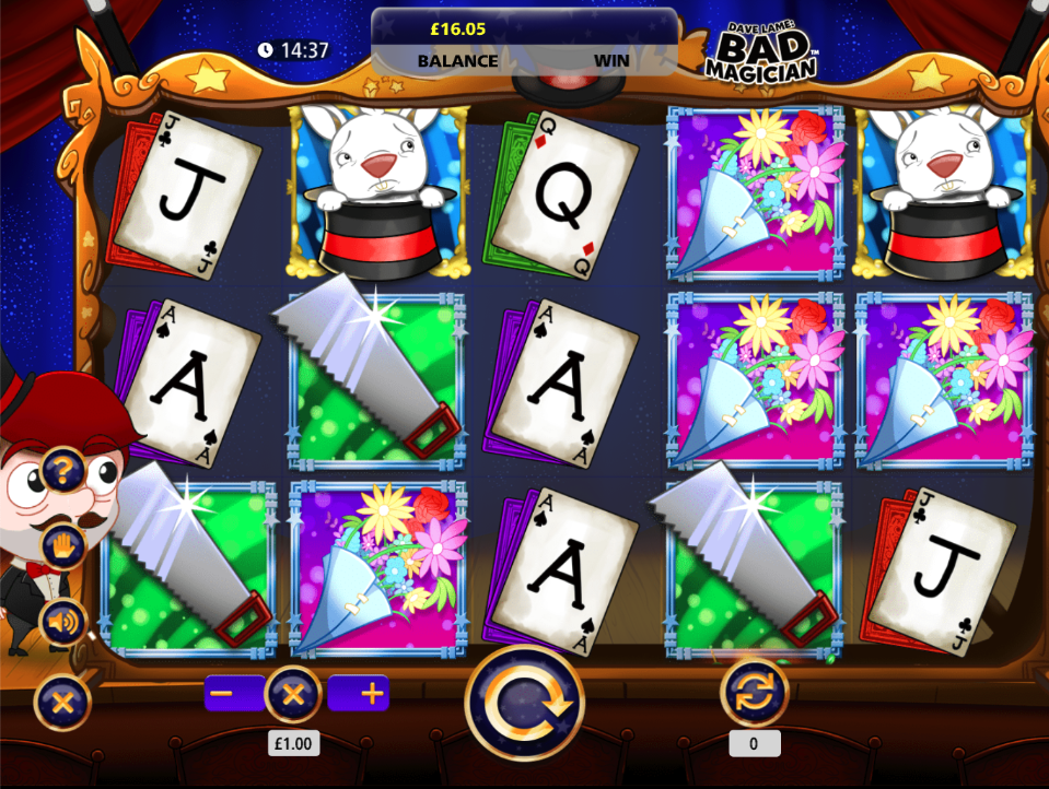 Dave Lame Bad Magician screenshot