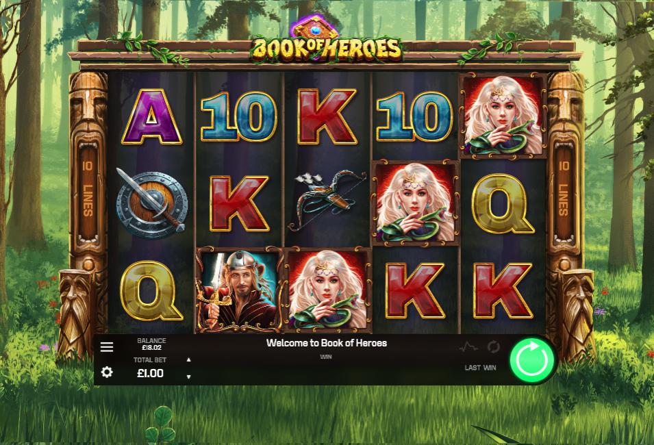 Book of Heroes screenshot