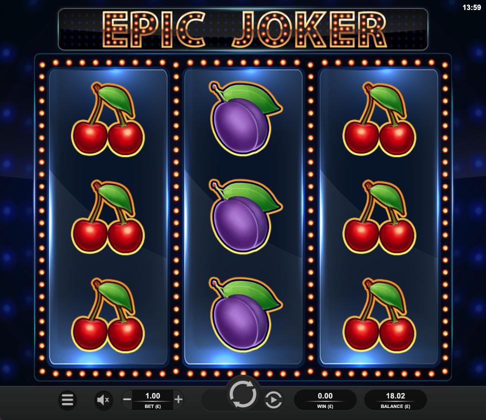 Epic Joker screenshot