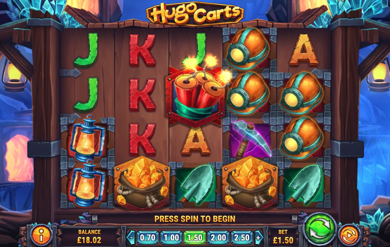 Hugo Carts screenshot