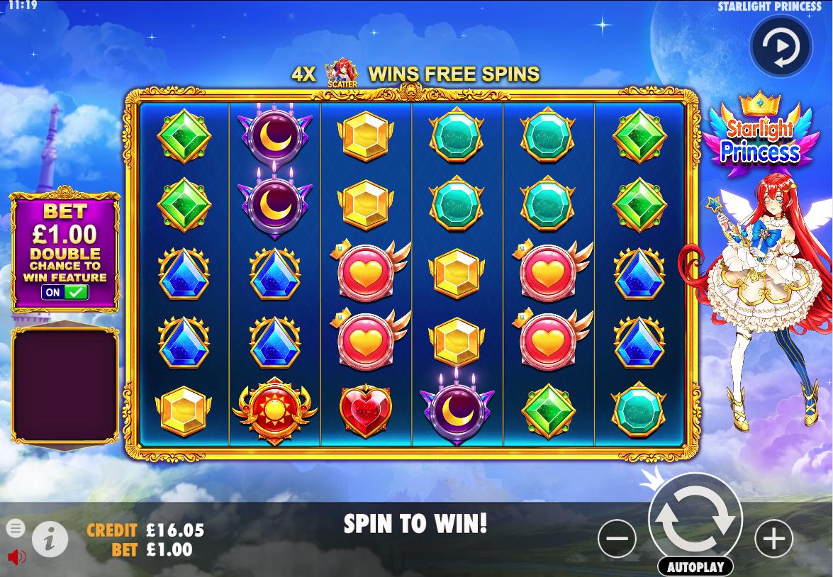 Starlight Princess screenshot