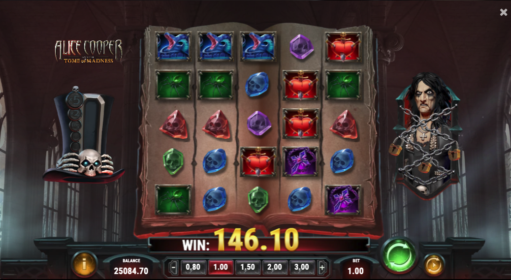 Alice Cooper And The Tome Of Madness screenshot