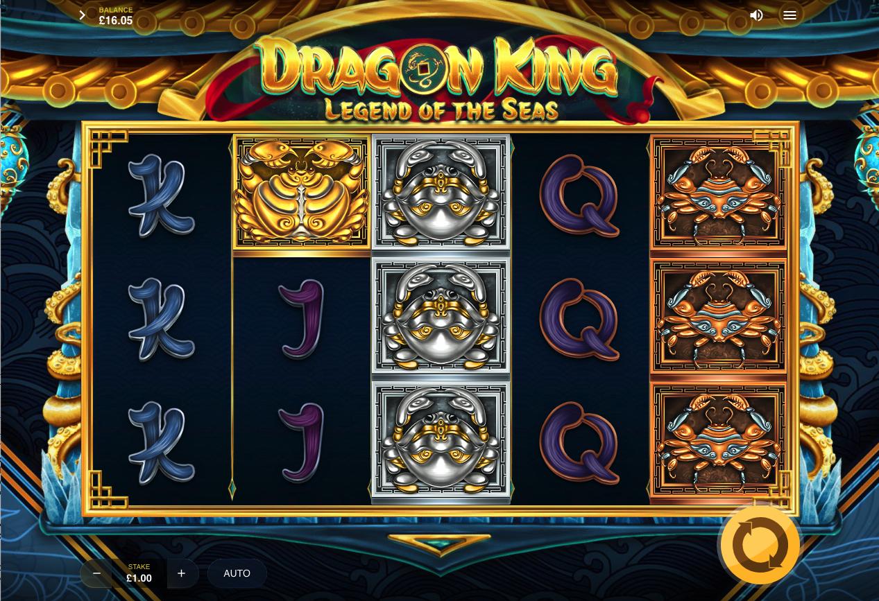 Dragon King: Legend of the Seas screenshot